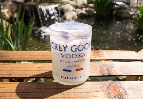 Hand Poured Grey Goose Candle