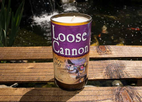 Heavy Seas Loose Cannon Hop3 IPA Beer Bottle Scented Candle
