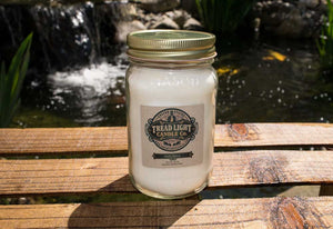 Large 14 oz Mason Jar Scented Candle