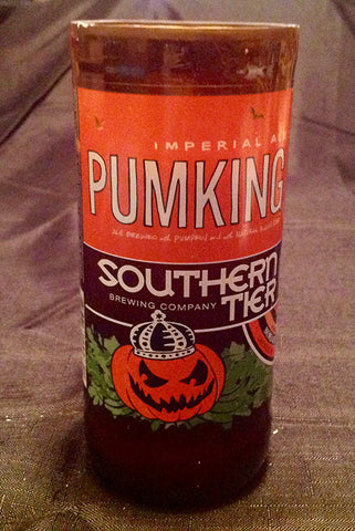 Southern Tier Pumking Beer Bottle Candle