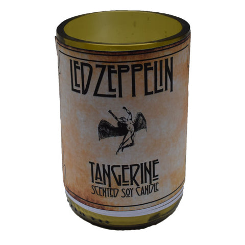 Led Zeppelin Tangerine Candle