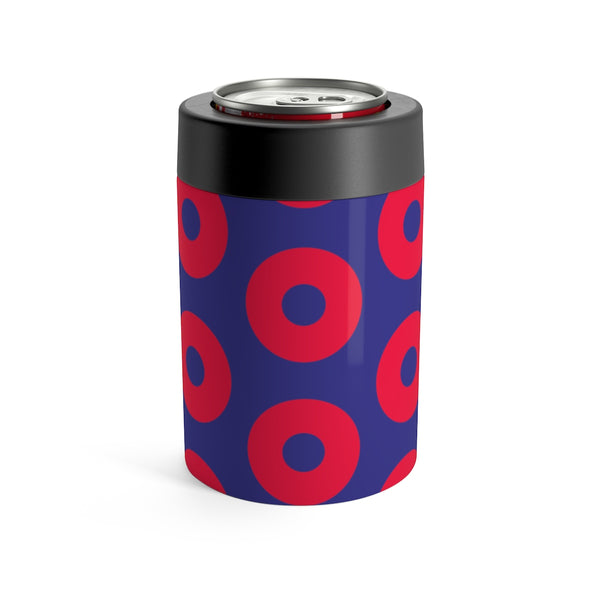 Phish inspired Fishman Donut Yeti Style Vacuum sealed Can Holder - Way better than a Koozie