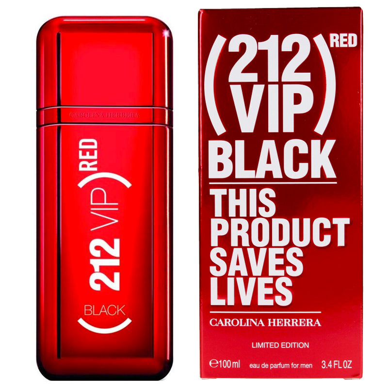 212 VIP Black Red 3.4 oz for men