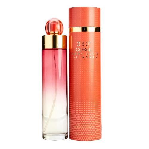 360 Coral 3.4 oz EDP for women