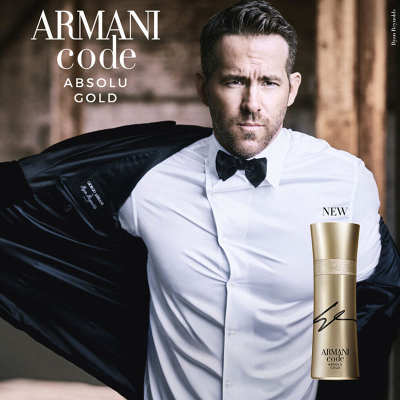 Armani Code Absolu Gold 2.0 oz EDP for men