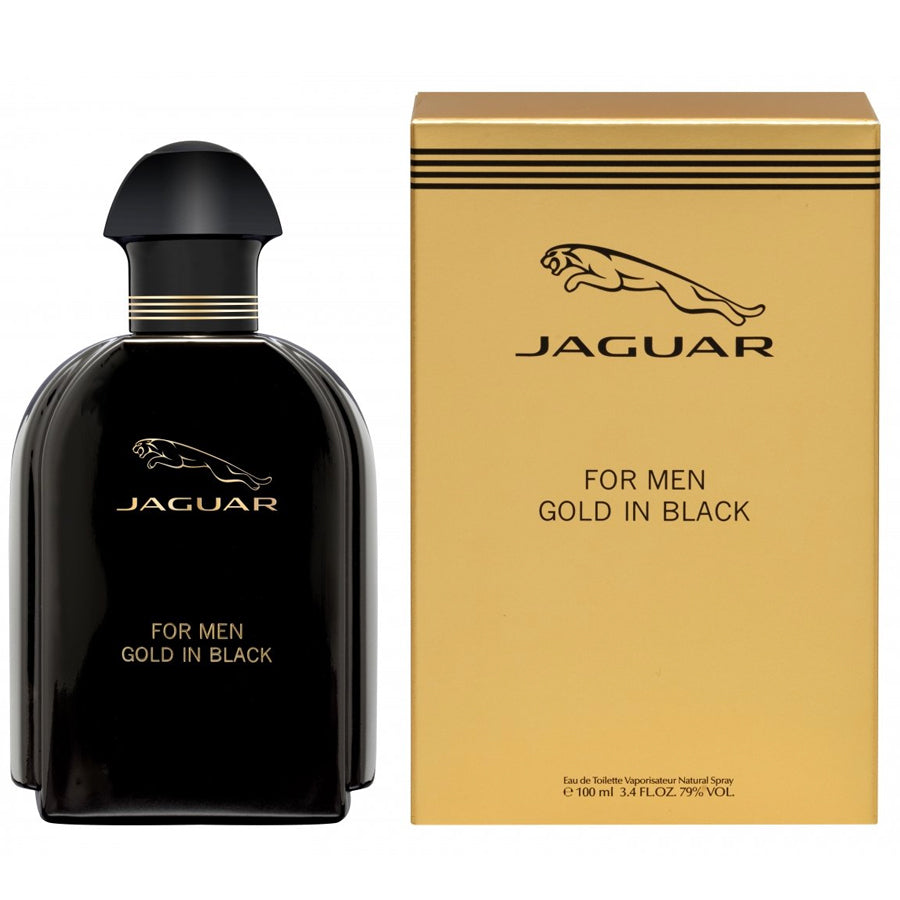 Jaguar Gold In Black 3.4 oz EDT for men