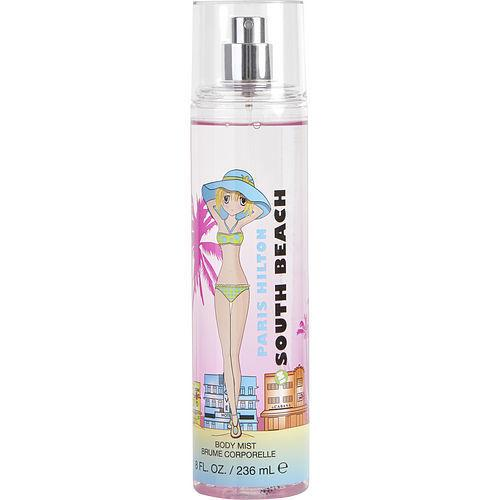 BABY & KID CARE PRODUCTS - Paris Hilton Passport South Beach 8 Oz Body Mist For Woman