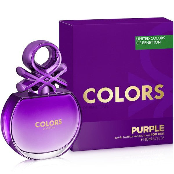 Colors De Benetton Purple 2.7 oz EDT for woman