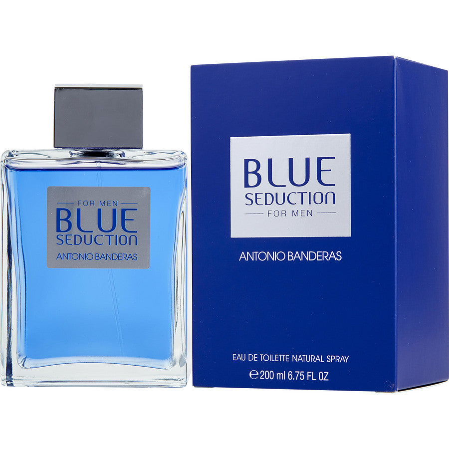 Blue Seduction by Antonio Banderas 6.8 oz EDT for men