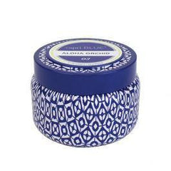 CANDLES - Aloha Orchid Printed Travel Tin 8.5 Oz Candle