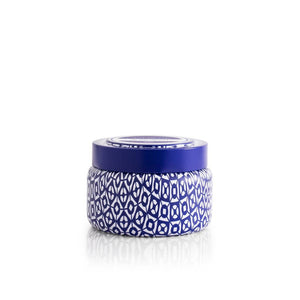 CANDLES - Blue Jean Printed Travel Tin 8.5 Oz Candle