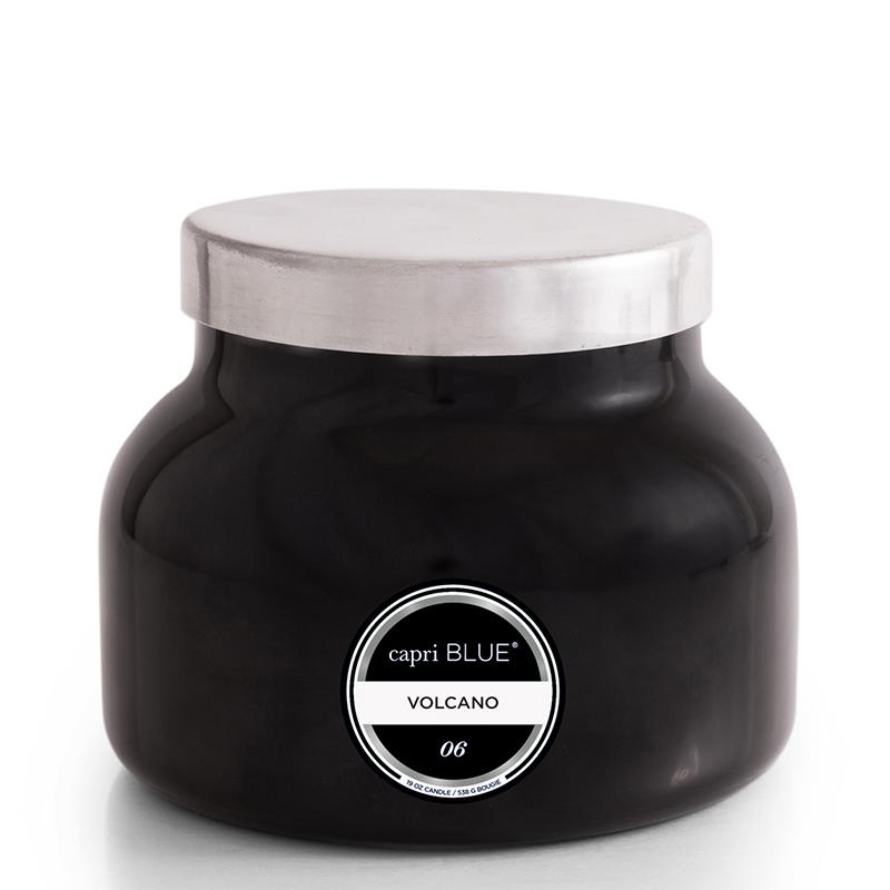 CANDLES - Petite Black Jar Volcano 8 Oz Candle