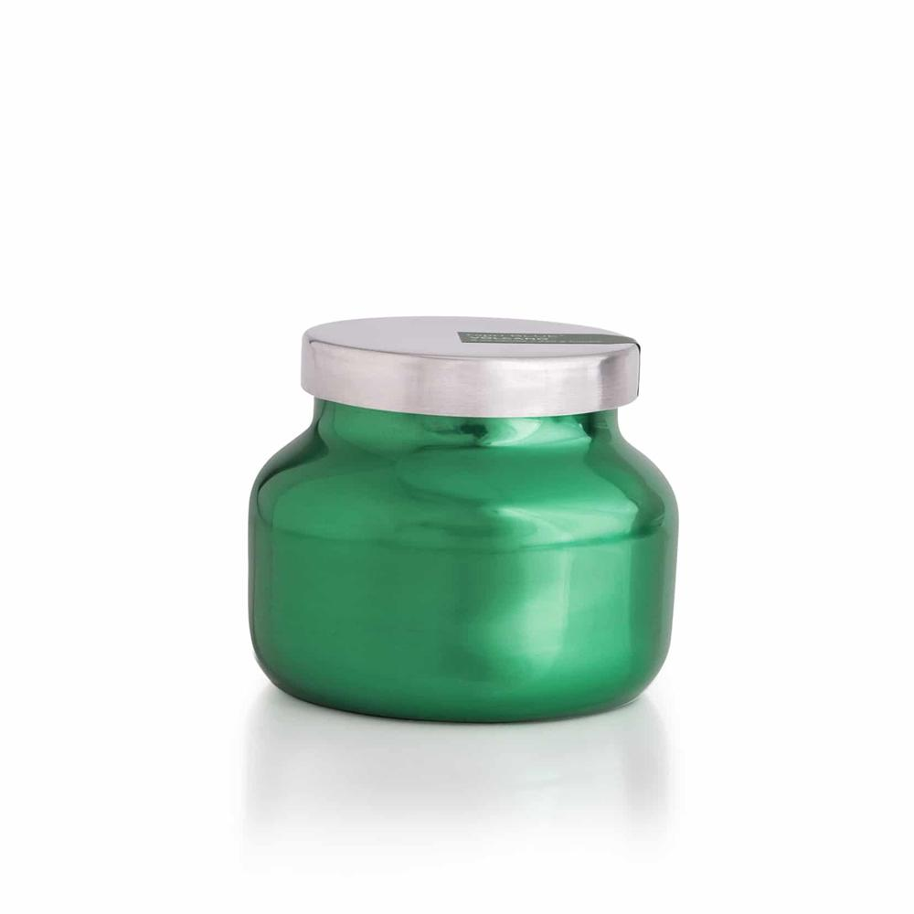 CANDLES - Signature Metallic Green Volcano 19 Oz Candle
