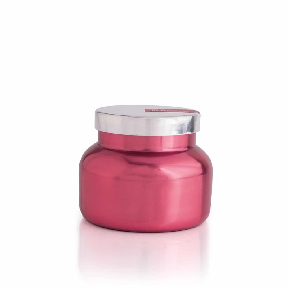 CANDLES - Signature Metallic Pink Peppermint 19 Oz Candle