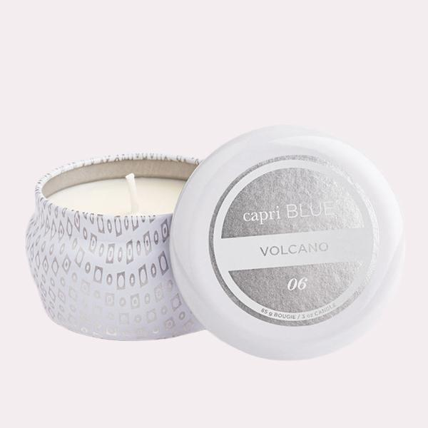 CANDLES - Volcano White Mini Tin, 3 Oz