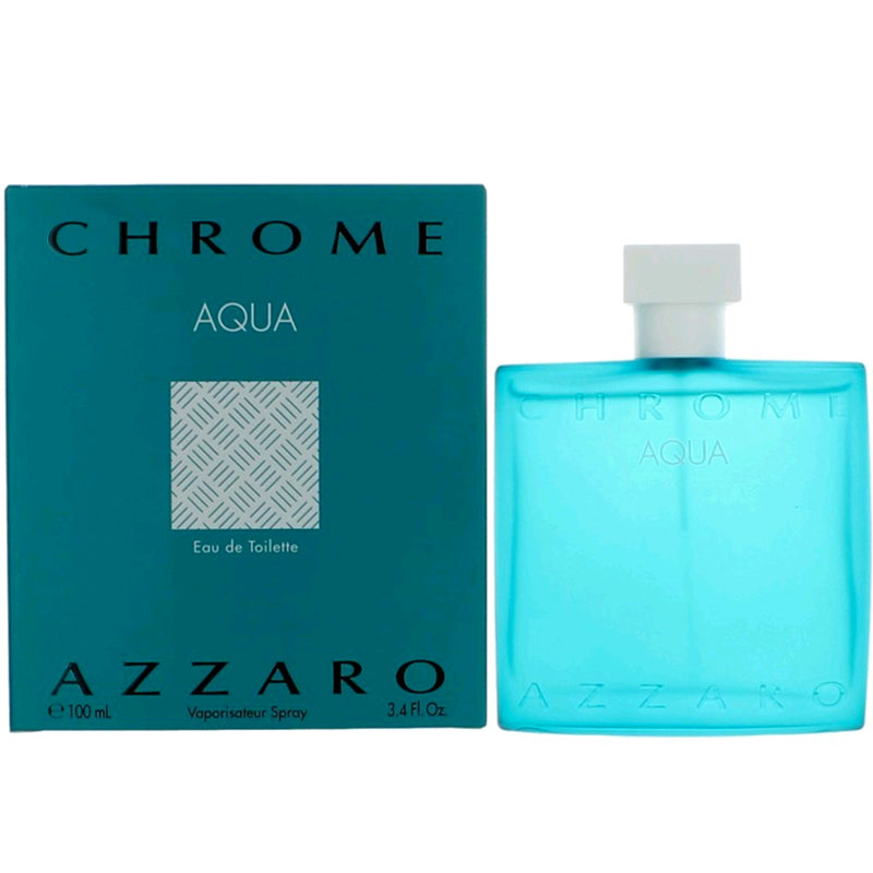 Chrome Aqua 3.4 oz EDT for men