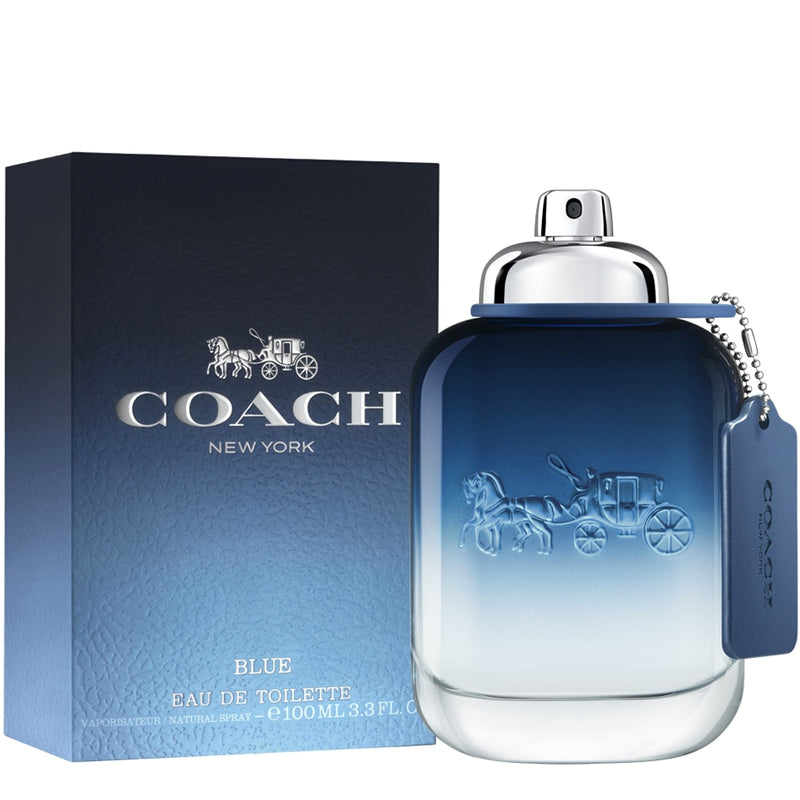 Coach Blue 3.4 oz EDT for men