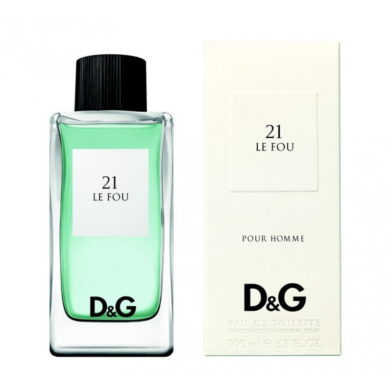 D&G 21 La Fou 3.3 oz EDT for men