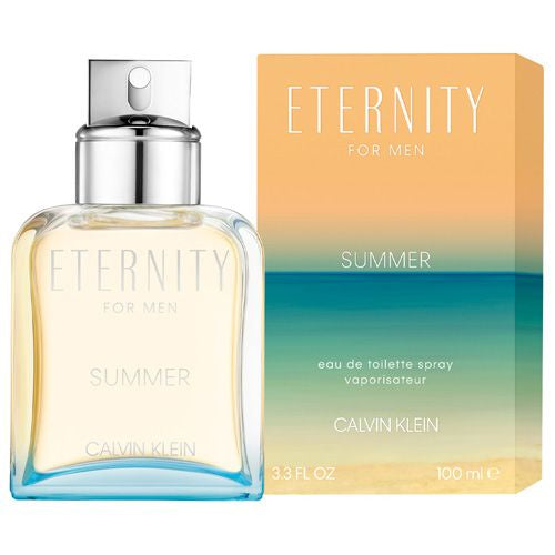 Eternity Summer 2019 3.3 oz EDT for men