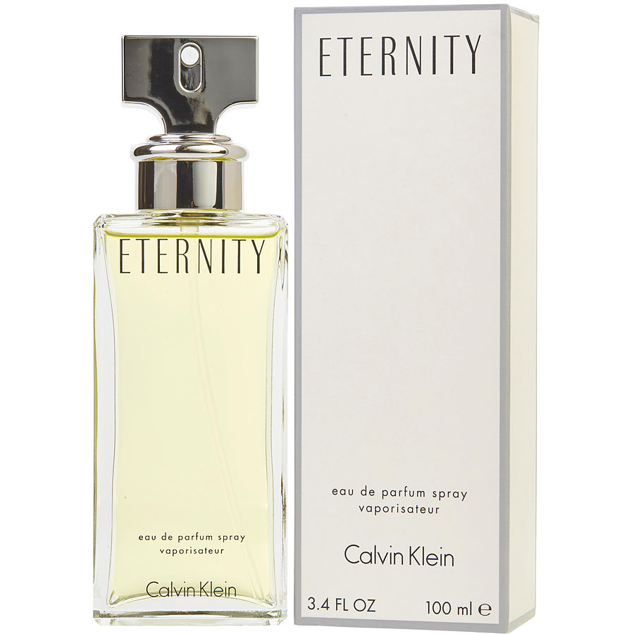 Eternity 3.4 oz EDP for women