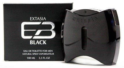 Extasia Black 3.4 oz EDT for men