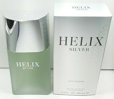 Helix Silver 3.4 oz EDT for men