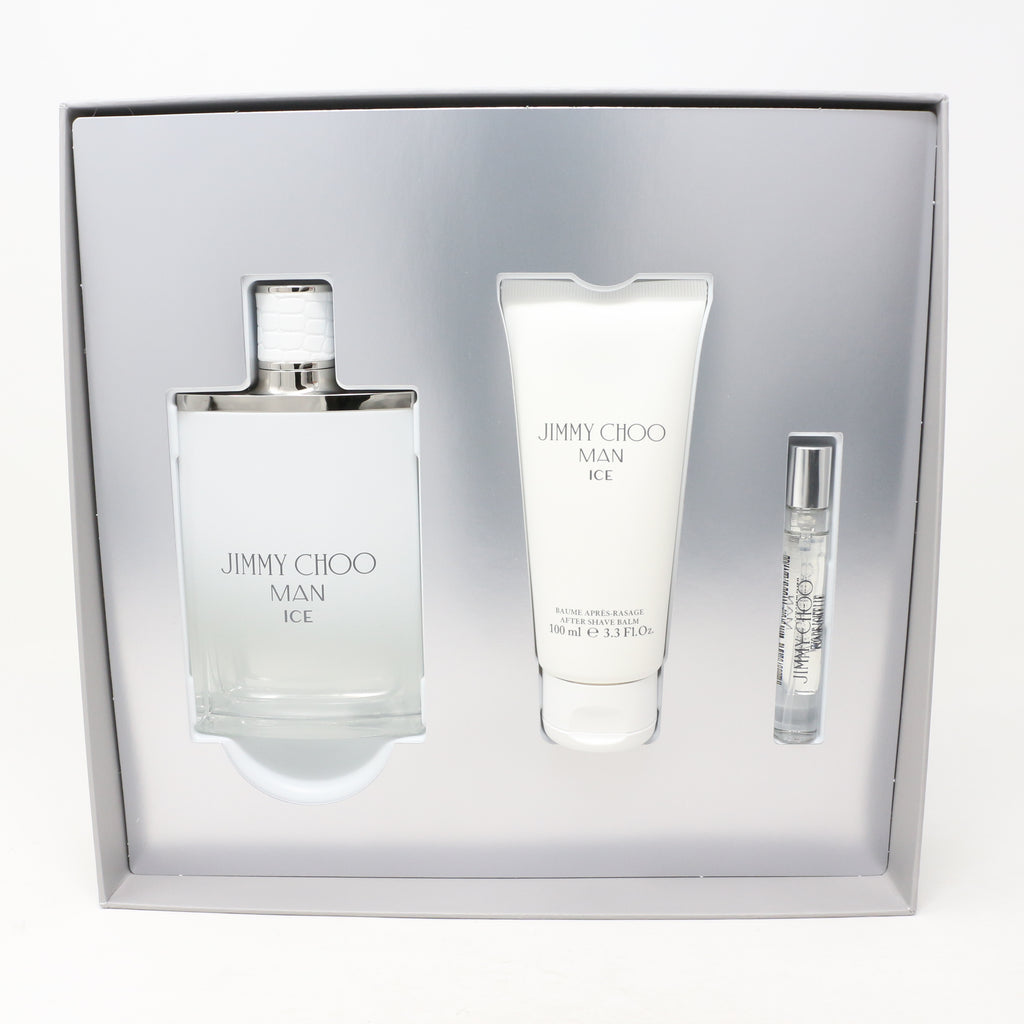 Jimmy Choo Ice 3.4 oz 2 Piece Set For Men