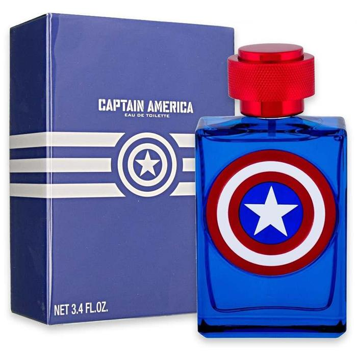 KIDS FRAGRANCES - Captain America Marvel 3.4 Oz EDT For Kids