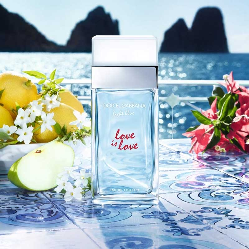 Dolce Gabanna Light Blue Love is Love 3.4 oz EDT for women