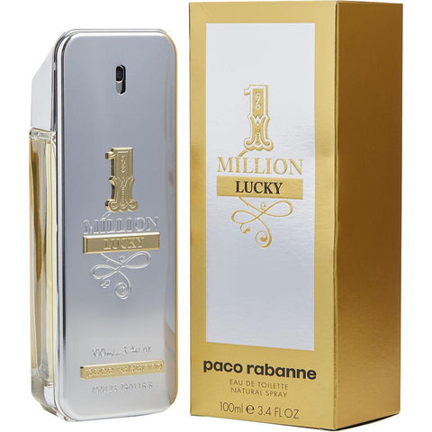 1 Million Lucky 3.4 oz EDT for men