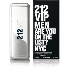 212 VIP 3.4 oz EDT for men  CAROLINA HERRERA MENS FRAGRANCES - LaBellePerfumes
