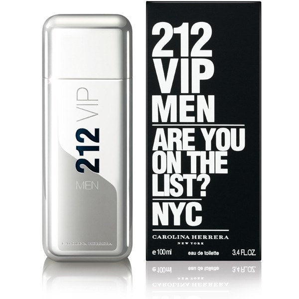 212 VIP 6.8 EDT for men  CAROLINA HERRERA MENS FRAGRANCES - LaBellePerfumes