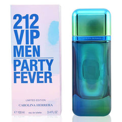 MENS FRAGRANCES - 212 VIP Men Party Fever 3.4 Oz EDT For Men