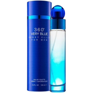 MENS FRAGRANCES - 360 Very Blue 3.4 Oz EDT For Men