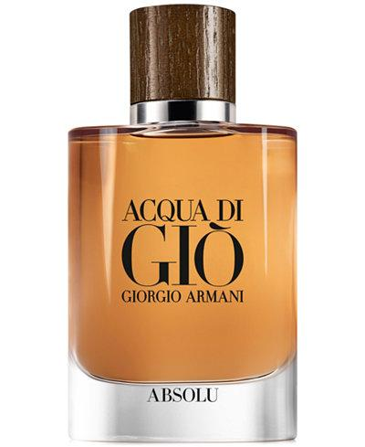 MENS FRAGRANCES - Acqua Di Gio Absolu 2.5 Oz EDP For Men