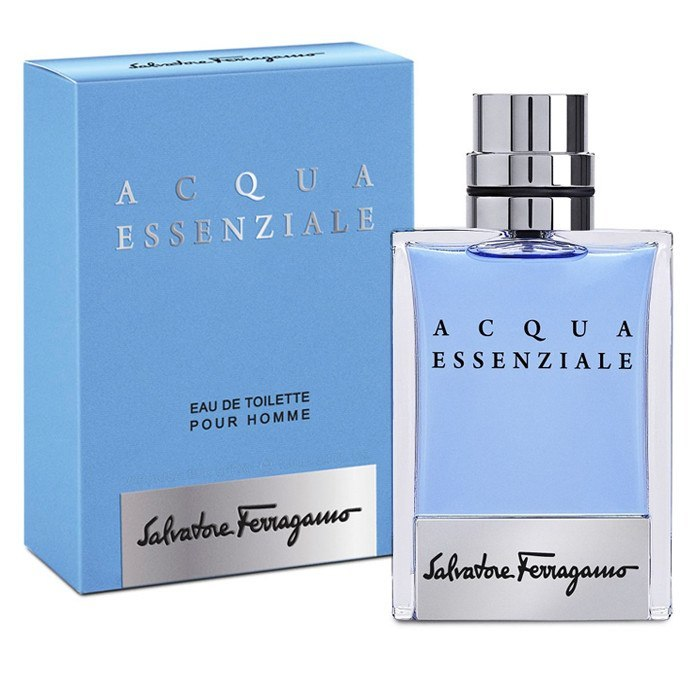 Acqua Essenziale 3.4 oz EDT for men  SALVATORE FERRAGAMO MENS FRAGRANCES - LaBellePerfumes