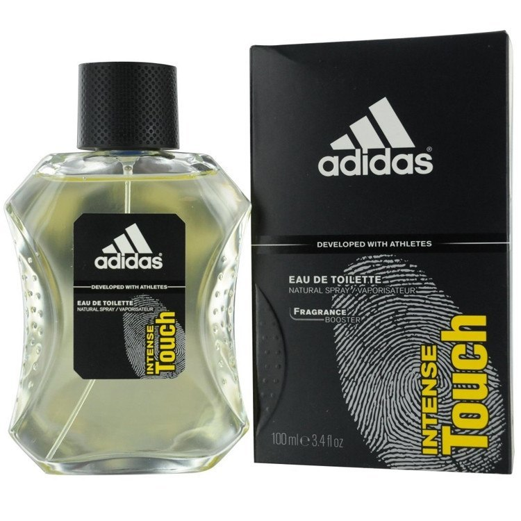 Adidas Intense Touch 3.4 oz EDT for men  ADIDAS MENS FRAGRANCES - LaBellePerfumes