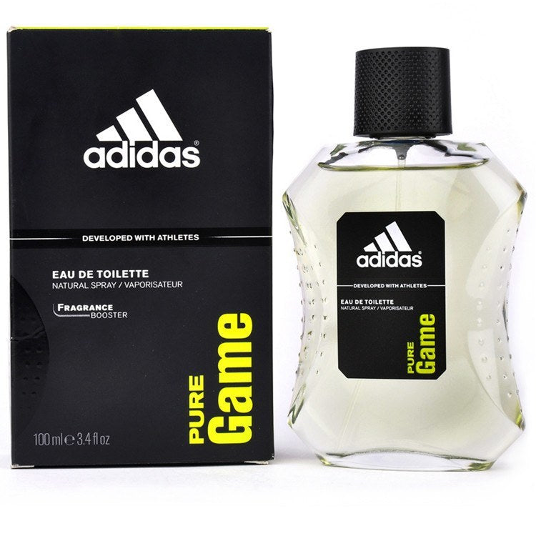 Adidas Pure Game 3.4 oz EDT for men  ADIDAS MENS FRAGRANCES - LaBellePerfumes