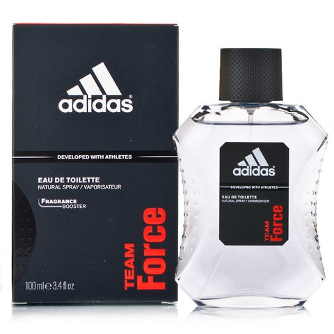 Adidas Team Force 3.4 oz EDT for men  ADIDAS MENS FRAGRANCES - LaBellePerfumes