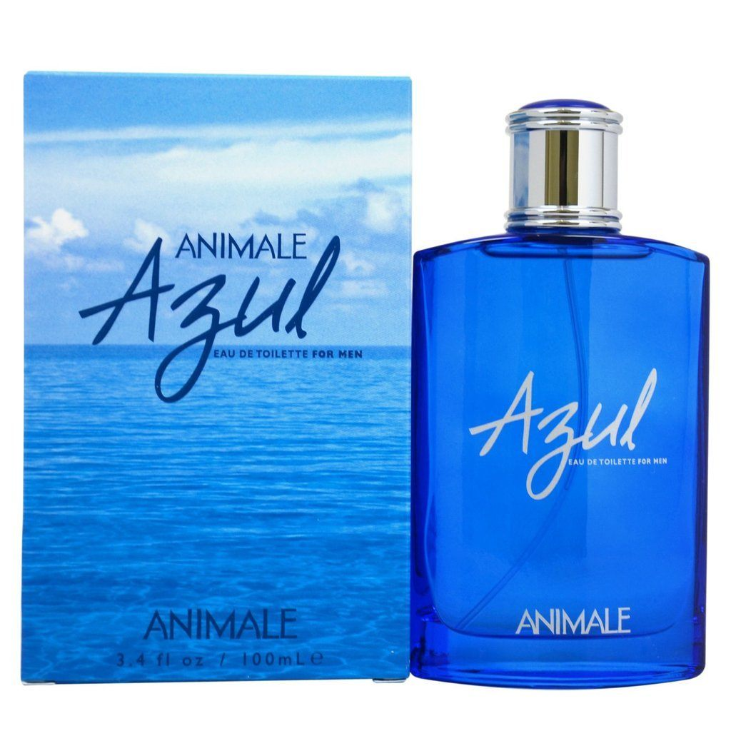 MENS FRAGRANCES - Animale Azul 3.4 Oz EDT For Men