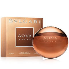 Aqva Amara 3.4 oz EDT for men  BULGARI MENS FRAGRANCES - LaBellePerfumes