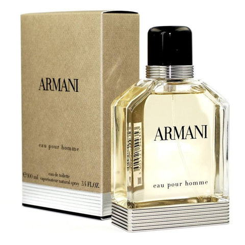 Armani 3.4 oz EDT for men