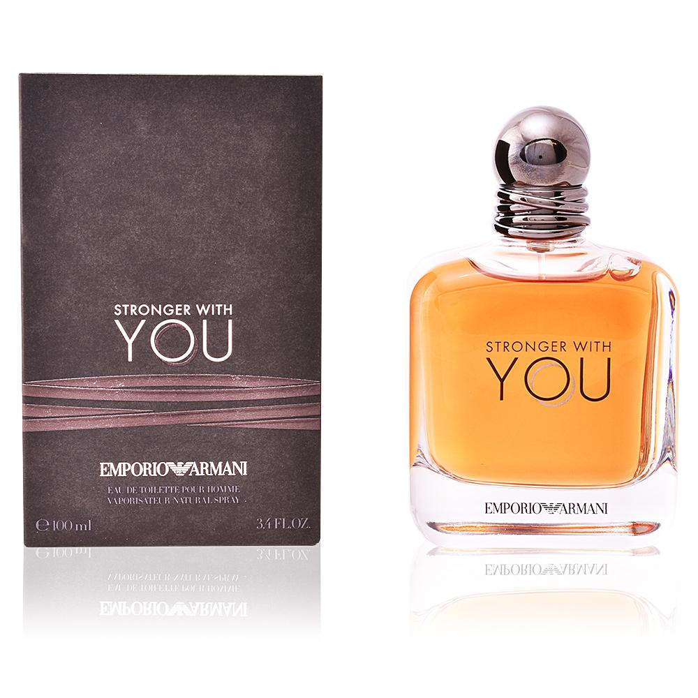 MENS FRAGRANCES - Armani Stronger With You 3.4 Oz EDT For Men