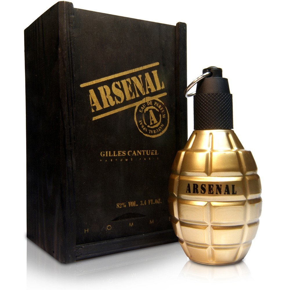 Arsenal Gold 3.4 oz EDT for men  GILES CANTUEL MENS FRAGRANCES - LaBellePerfumes