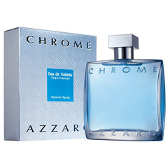 MENS FRAGRANCES - Azzaro Chrome 3.4 Oz EDT For Men