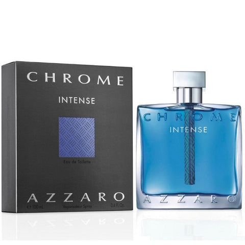 MENS FRAGRANCES - Azzaro Chrome Intense 3.4 Oz EDT For Men