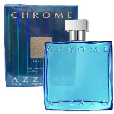 MENS FRAGRANCES - Azzaro Chrome Limited Edition 3.4 Oz EDT For Men
