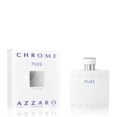 MENS FRAGRANCES - Azzaro Chrome Pure 3.4 Oz EDT For Men