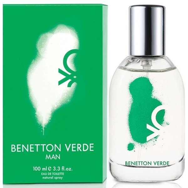 Benetton Verde 3.4 oz EDT for men  BENETTON MENS FRAGRANCES - LaBellePerfumes