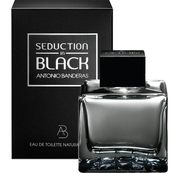 Black Seduction 3.4 oz EDT for men  ANTONIO BANDERAS MENS FRAGRANCES - LaBellePerfumes